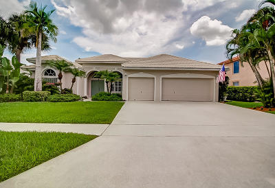 Lake Worth, Lakeworth Single Family Home For Sale: 4474 Danielson Drive