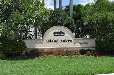 Boca Raton Single Family Home For Sale: 11331 Island Lakes Lane