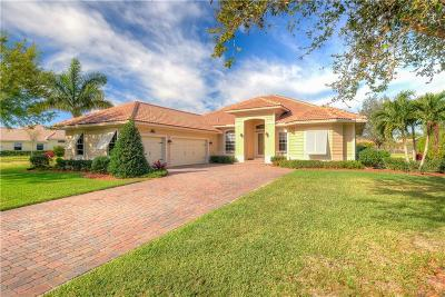 Vero Beach Single Family Home For Sale: 605 Caroline Drive