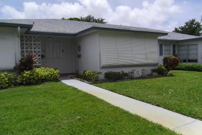 Delray Beach Condo For Sale: 1227 Club Drive W #B