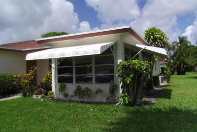 Delray Beach Single Family Home For Sale: 4775 NW 2nd Street #D