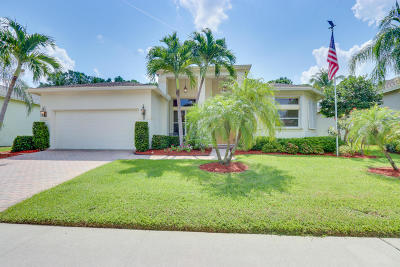 Boynton Beach Single Family Home For Sale: 9 Lake Eden Drive