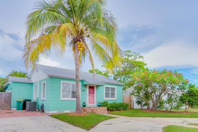 Lake Worth Single Family Home For Sale: 1205 F Street