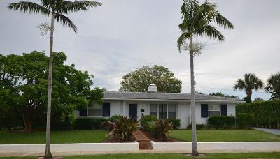 West Palm Beach Single Family Home For Sale: 320 Nathan Hale Road