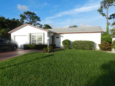 Greenacres FL Single Family Home For Sale: $225,000