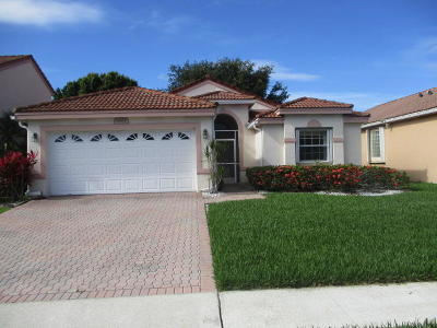 Boynton Beach Single Family Home For Sale: 6864 Ashton Street