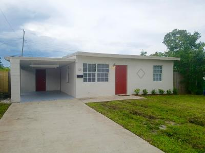 Boynton Beach Single Family Home For Sale: 121 SE 12th Avenue