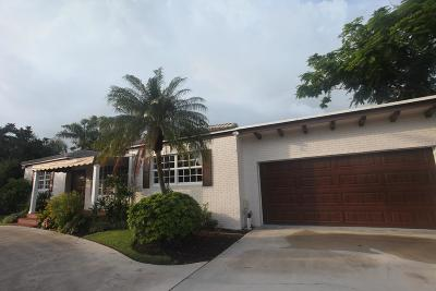 West Palm Beach Single Family Home For Sale: 228 Cortez Road