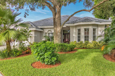 Palm Beach Gardens Single Family Home For Sale: 13470 Miles Standish