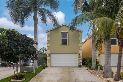 Lake Worth Single Family Home For Sale: 4713 Clemens Street