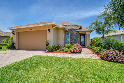Port Saint Lucie FL Single Family Home Contingent: $285,888