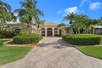 Palm Beach Gardens Single Family Home For Sale: 11 Wycliff Road