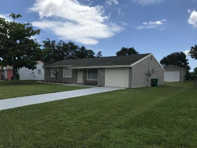 Port Saint Lucie Single Family Home Contingent: 2085 SE New York Street