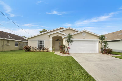 Jupiter Single Family Home For Sale: 6070 Garrett Street