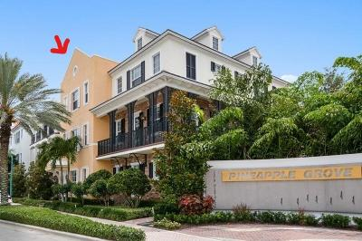 Delray Beach Townhouse For Sale: 389 E Cannery Row Circle