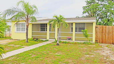 Boynton Beach Single Family Home Contingent: 3164 Ocean Parkway
