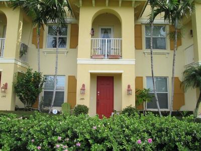 Boynton Beach Townhouse For Sale: 1386 Piazza Delle Pallottole