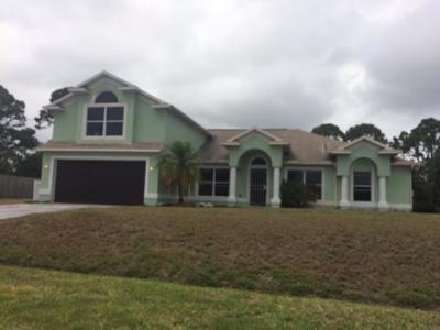 Port Saint Lucie Single Family Home For Sale: 1841 SE Deming Avenue