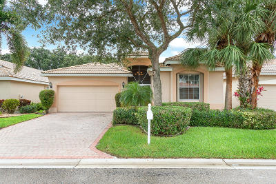 Delray Beach Single Family Home For Sale: 6903 Viale Elizabeth