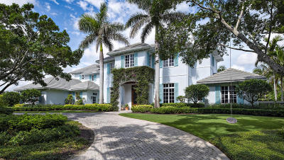 North Palm Beach FL Single Family Home For Sale: $5,950,000