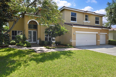 Coconut Creek Single Family Home For Sale: 4480 NW 42nd Terrace