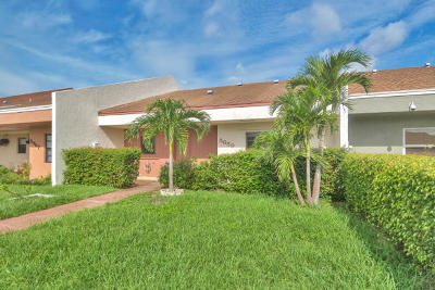Lake Worth Single Family Home Contingent: 5659 Waltham Way