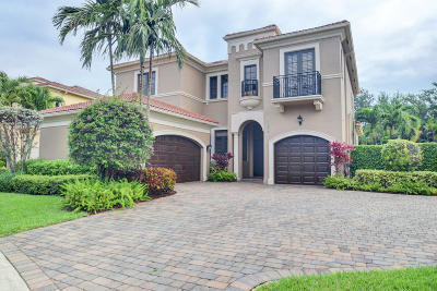 Boca Raton Single Family Home For Sale: 17858 Lake Azure Way
