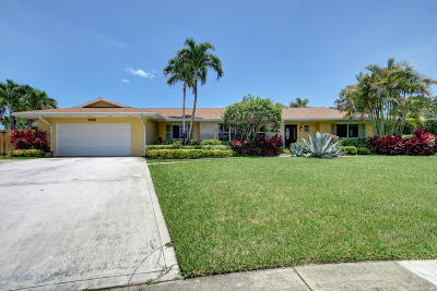 North Palm Beach Single Family Home For Sale: 509 Par Court
