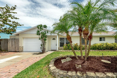 Jupiter Single Family Home For Sale: 1009 Mohawk Street
