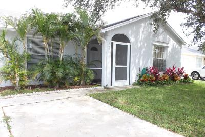 Jupiter Single Family Home For Sale: 109 Wingate Drive