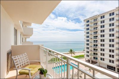 Highland Beach Condo For Sale: 3215 S Ocean Boulevard #507