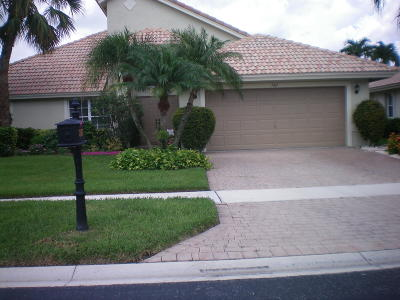 Boynton Beach Single Family Home For Sale: 7367 Falls Road W