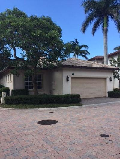 Palm Beach Gardens FL Single Family Home For Sale: $315,000