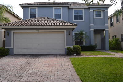 West Palm Beach Single Family Home For Sale: 3895 Torres Circle