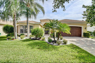 Delray Beach Single Family Home For Sale: 9744 Baywood Park Lane