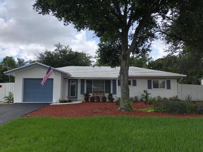 Boca Raton Single Family Home For Sale: 616 E Conference Drive