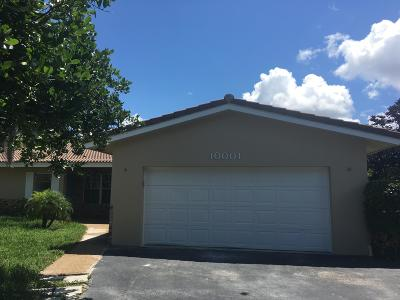 Coral Springs Rental For Rent: 10001 NW 36th Street #B