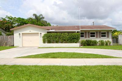 Boca Raton Single Family Home For Sale: 99 SW 12th Avenue