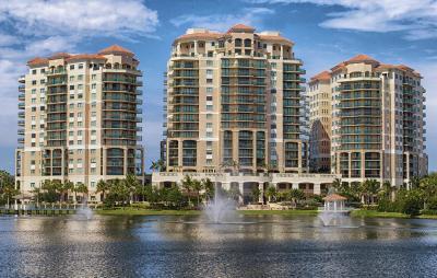 Palm Beach Gardens Condo For Sale: 3620 Gardens Parkway #1601b