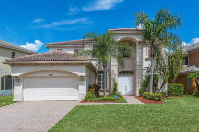 West Palm Beach Single Family Home For Sale: 3121 Santa Margarita Road