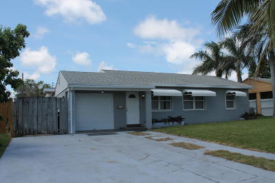 West Palm Beach Single Family Home For Sale: 919 Lytle Street