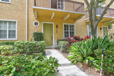 Jupiter Townhouse For Sale: 109 W Indian Crossing Circle