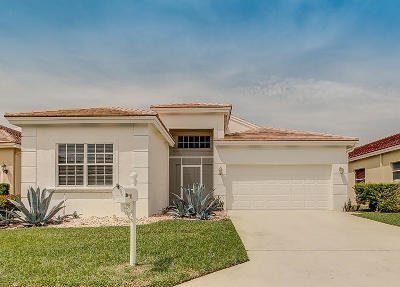 Lake Worth, Lakeworth Single Family Home Contingent: 6299 Harbour Club Drive