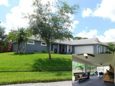 Port Saint Lucie FL Single Family Home Sold: $244,900