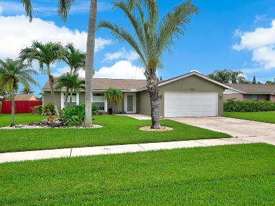 Boynton Beach Single Family Home For Sale: 5065 Mark Drive