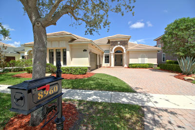 Boynton Beach Single Family Home For Sale: 8960 Equus Circle