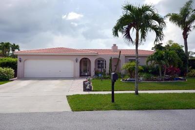 Boca Raton Single Family Home For Sale: 22140 Aquila Street