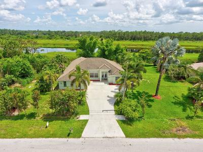 Port Saint Lucie Single Family Home For Sale: 1482 SW Abacus Avenue