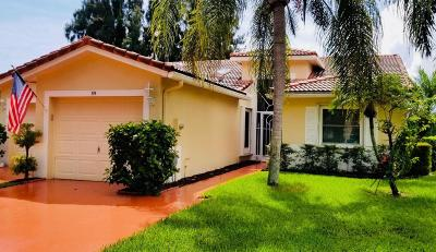 Boynton Beach Single Family Home For Sale: 89 Sausalito Circle