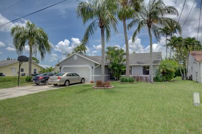 Jupiter Single Family Home For Sale: 6271 Ungerer Street